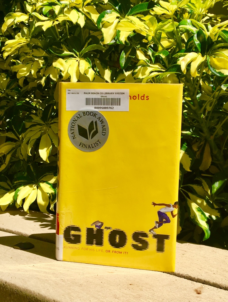 Ghost by Jason Reynolds Book Cover