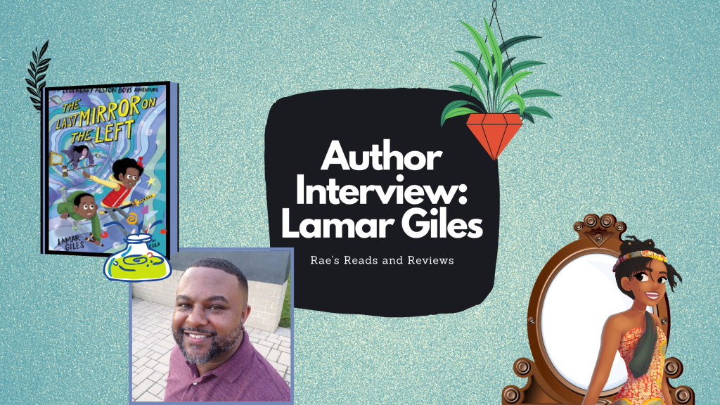 Author Interview with Lamar Giles ~ Rae's Reads and Reviews