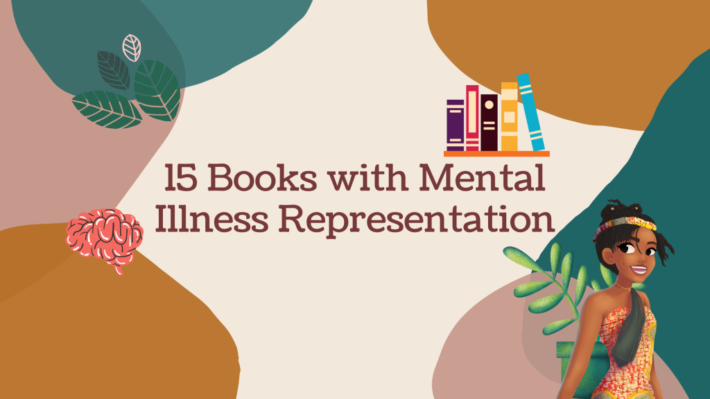 15 Books with Mental Illness Representation ~ Rae's Reads and Reviews